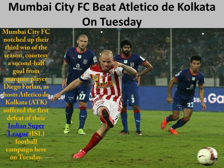 Mumbai City FC Beat