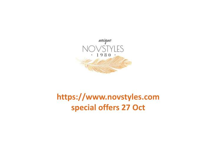 Https://www.novstyles.comspecial offers 27 Oct