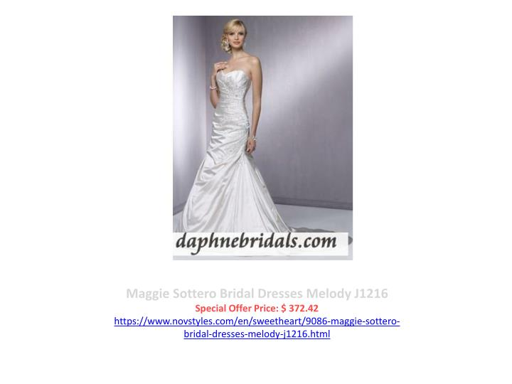 Maggie Sottero Bridal Dresses Melody J1216