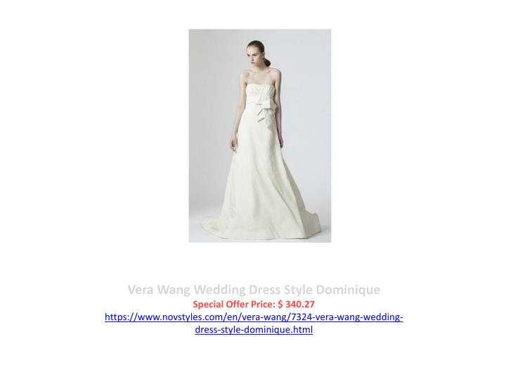 Vera Wang Wedding Dress Style Dominique