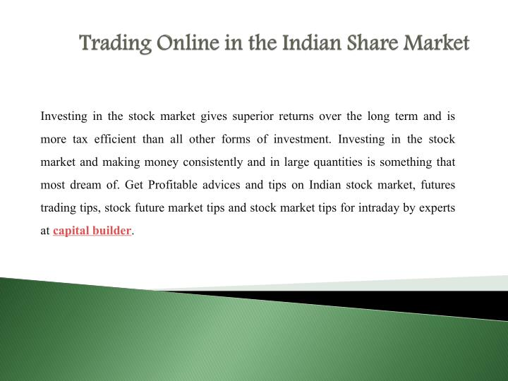 Enter the Indian Trading League Today!
