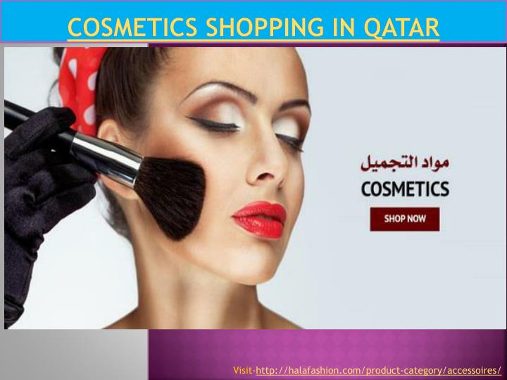 Cosmetics shopping in qatar