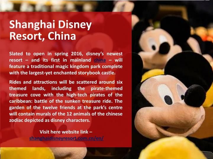Shanghai Disney Resort, China