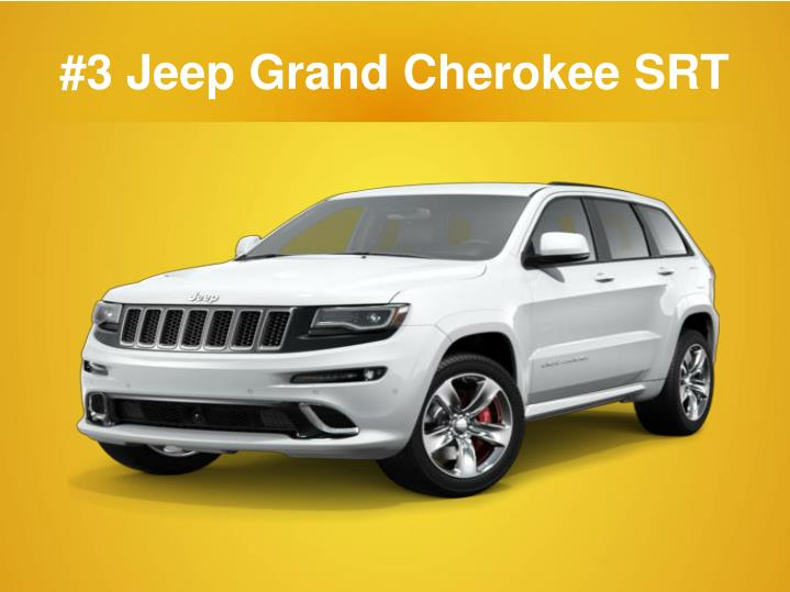#3 Jeep Grand Cherokee SRT