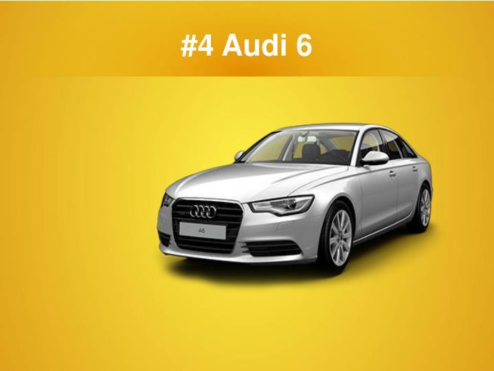 #4 Audi 6
