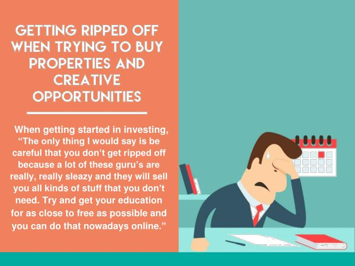 When getting started in investing,