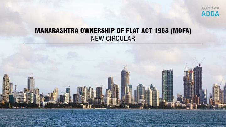Maharashtra ownership of flat act 1963 mofa