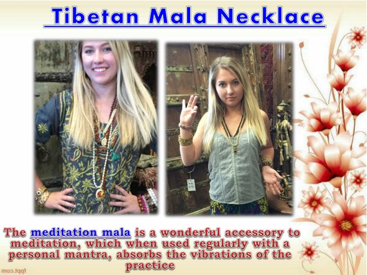 Tibetan Mala Necklace