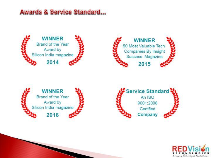 Awards & Service Standard…