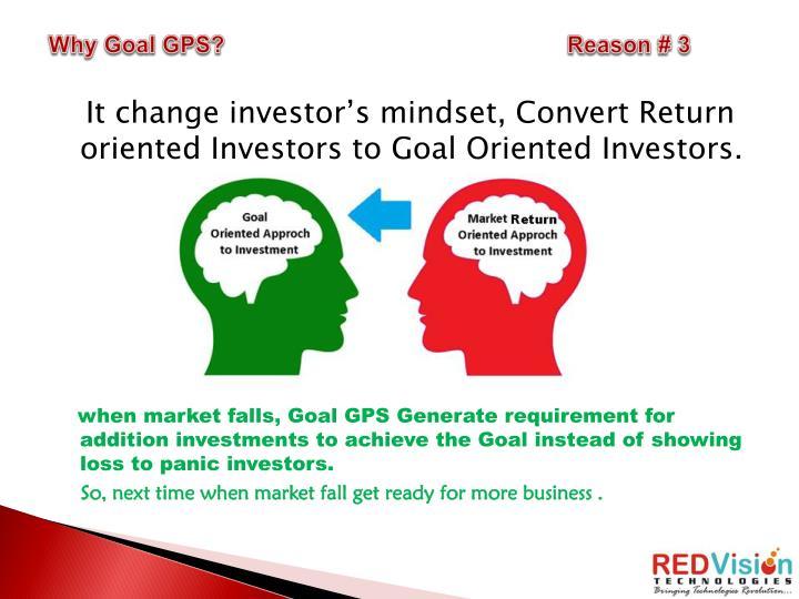 Why Goal GPS?