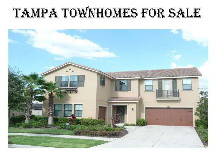 Tampa Townhomes for Sale