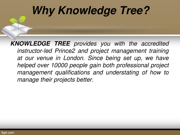 Why Knowledge Tree?