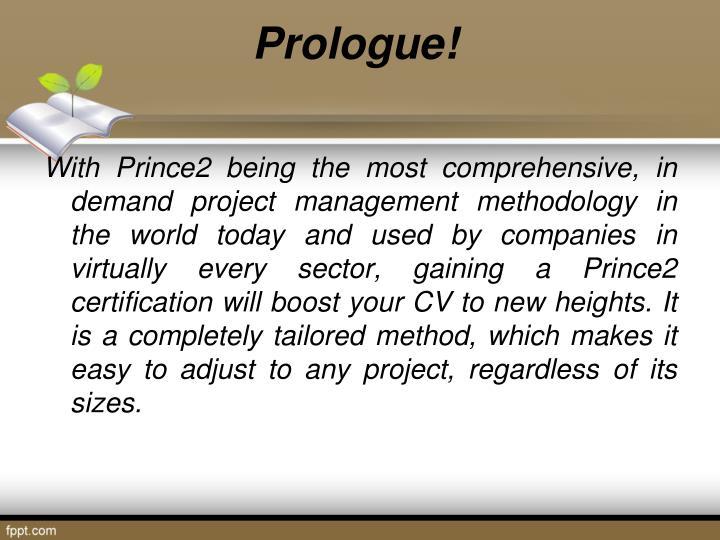 Prologue!
