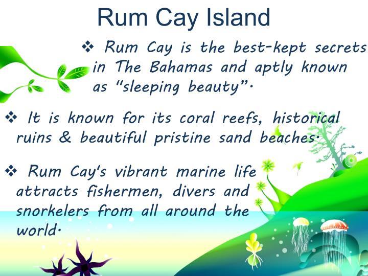 Rum Cay Island