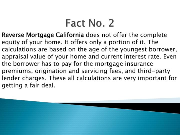 Reverse Mortgage California