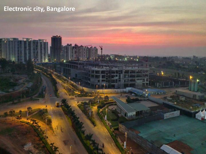 Electronic city, Bangalore