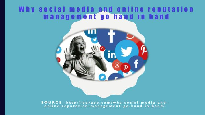Why social media and online reputation management go hand in hand