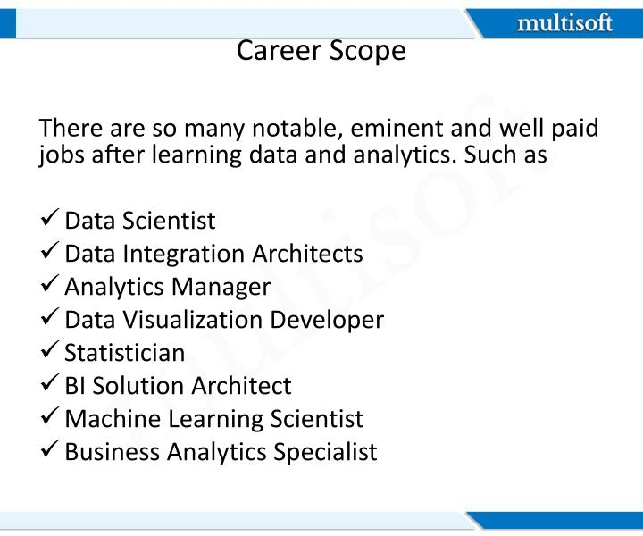 Career Scope