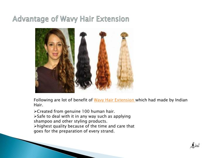 Advantage of Wavy Hair Extension