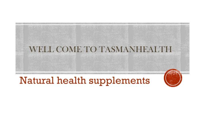 Well come to tasmanhealth