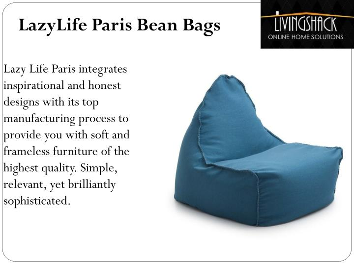 LazyLife Paris Bean Bags