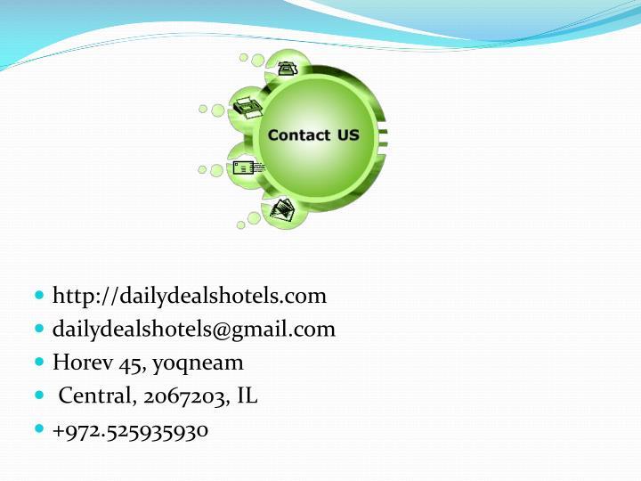 http://dailydealshotels.com