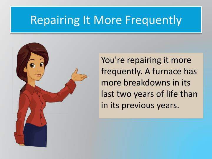 Repairing It