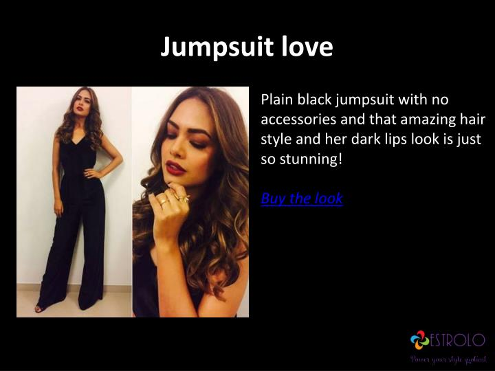 Jumpsuit love