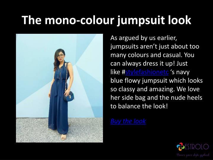 The mono-