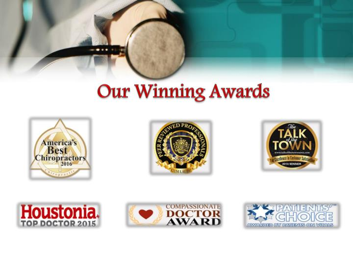 Our Winning Awards