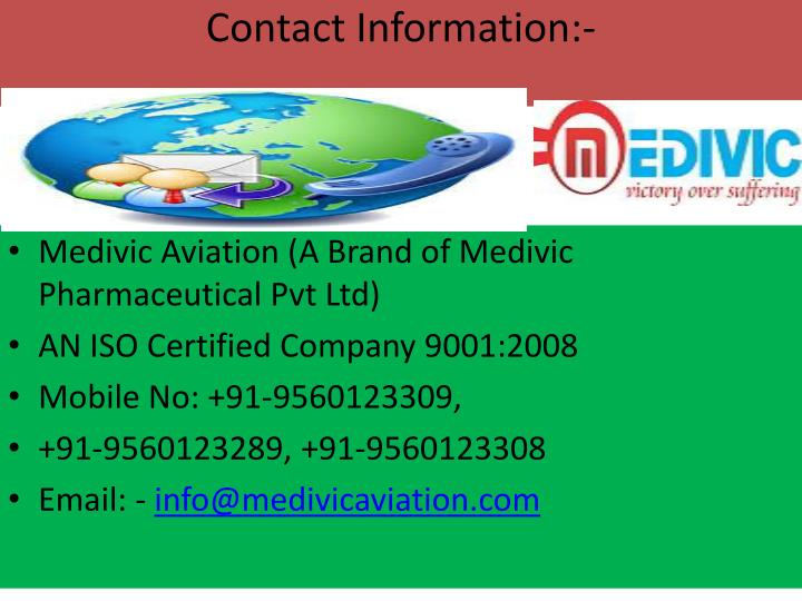 Contact Information:-