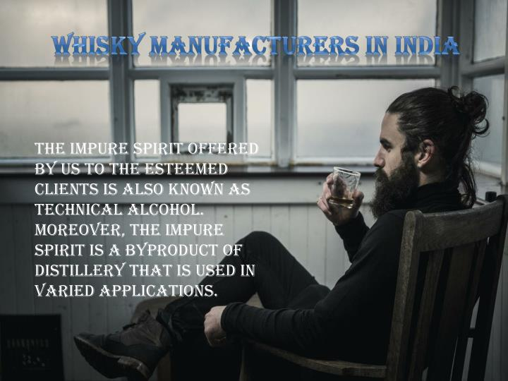 Whisky Manufacturers in India