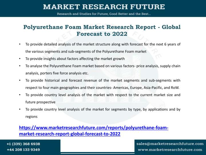Polyurethane Foam Market Research Report - Global Forecast to 2022