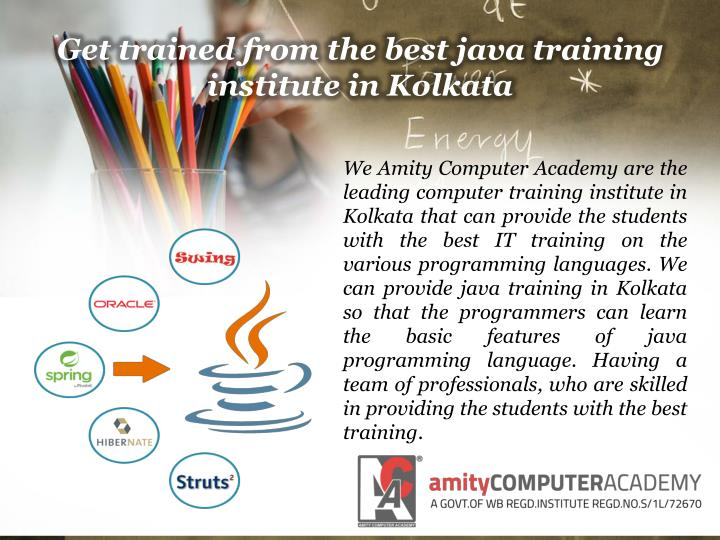 Get trained from the best java training institute in Kolkata