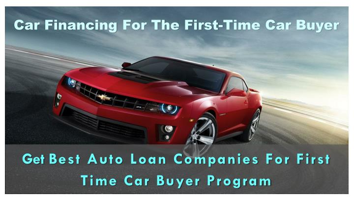 Car financing for the first time car buyer