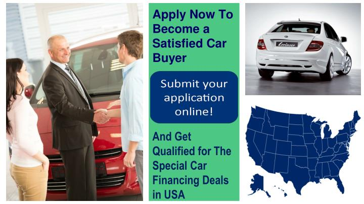 Apply Now To Become a Satisfied Car Buyer