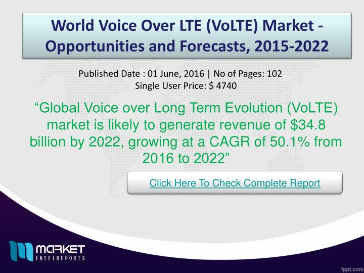World Voice Over LTE (
