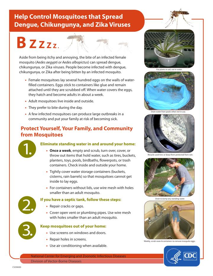 Help Control Mosquitoes that Spread