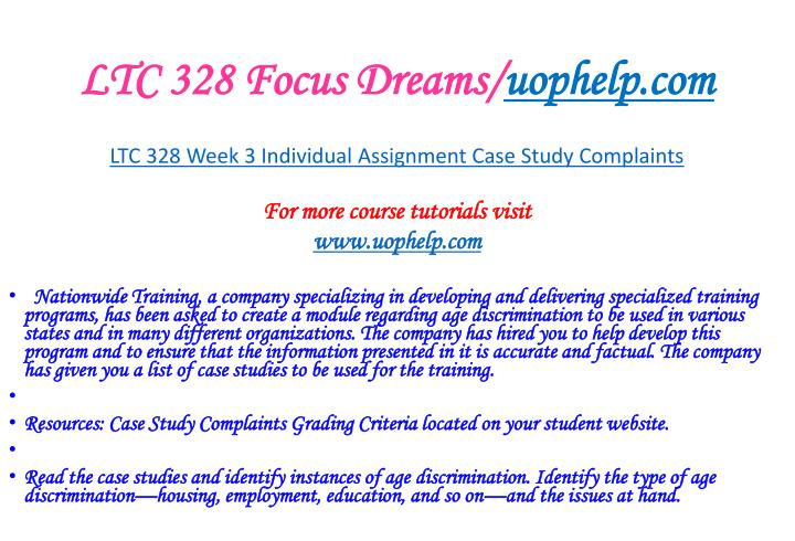 LTC 328 Focus Dreams/