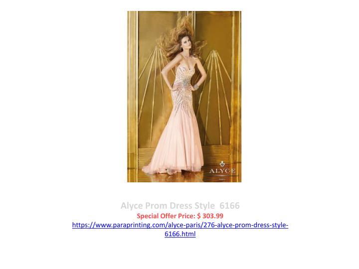 Alyce Prom Dress Style  6166