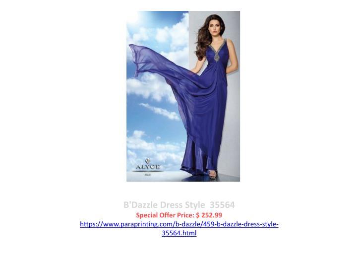 B'Dazzle Dress Style  35564