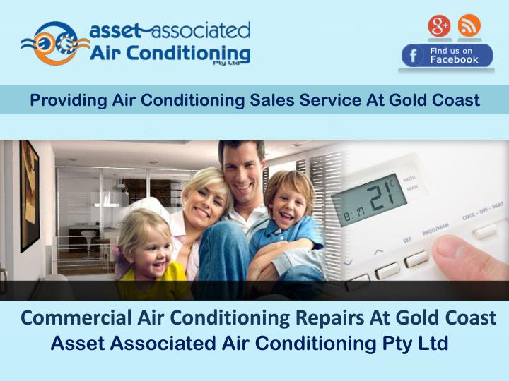 Providing Air Conditioning Sales Service At Gold Coast