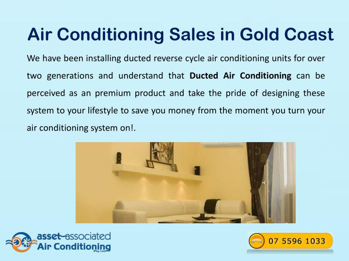 Air Conditioning Sales in Gold Coast