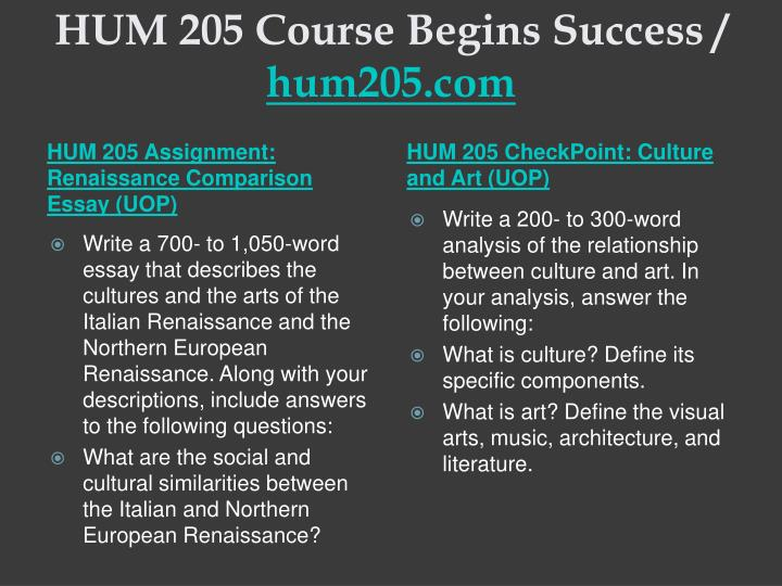 Hum 205 course begins success hum205 com2