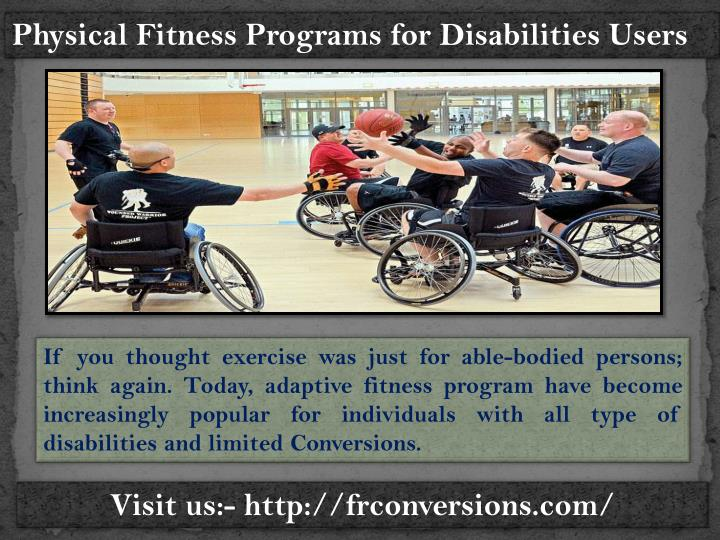 Physical Fitness Programs for