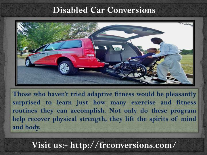 Wheelchair vans for sale frconversions