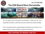 the ess board store parramatta