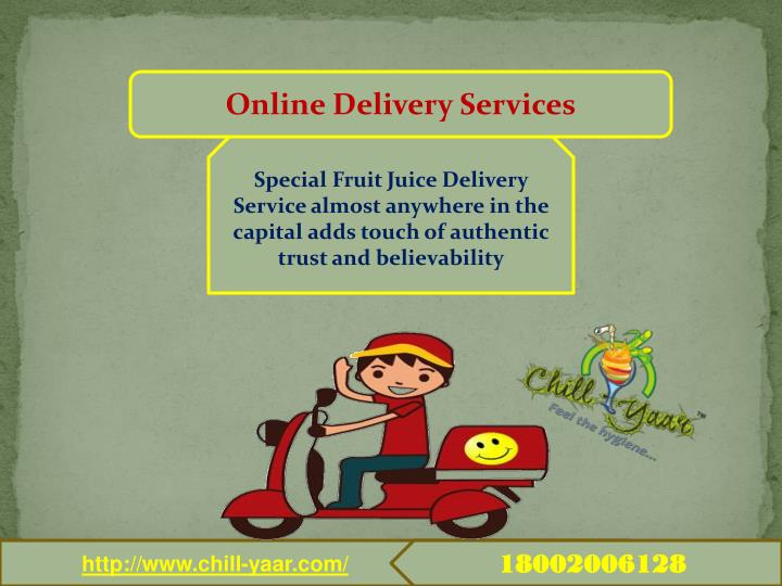 Online Delivery Services