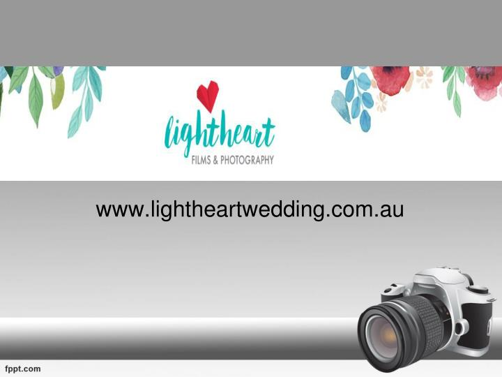 Www lightheartwedding com au