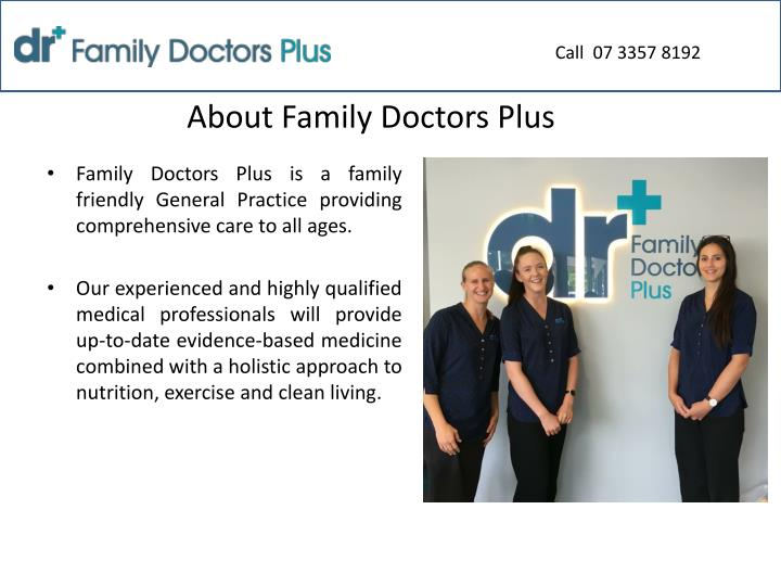 About family doctors plus